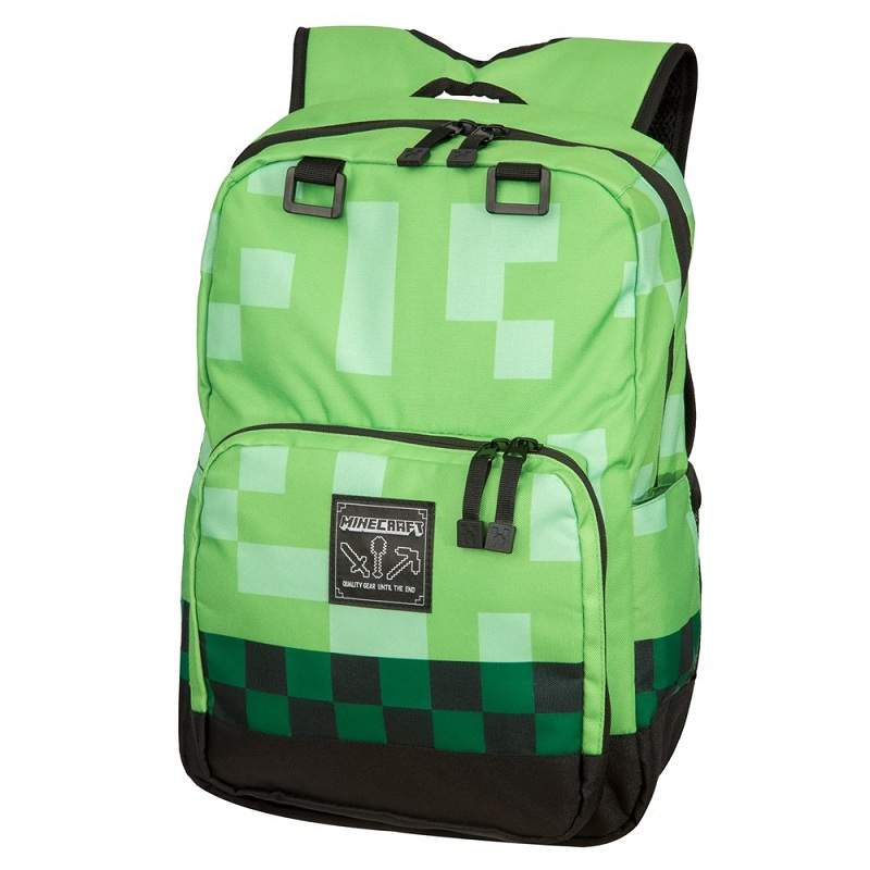 Balo Minecraft creeper backpack